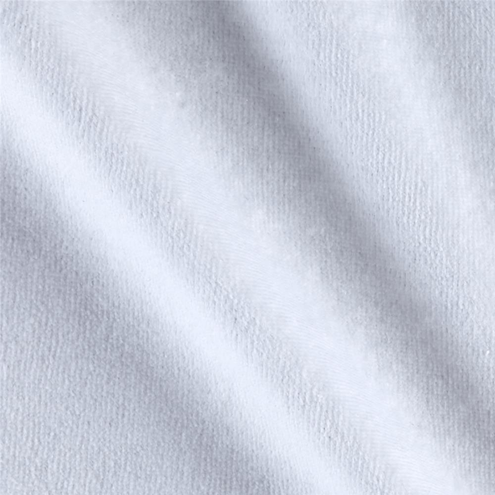 Solid Velour White