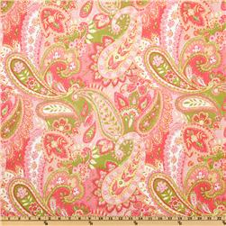 P Kaufmann Gypsy Paisley Watermelon Fabric