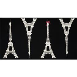 Kokka Paris Eiffel Tower Large Black