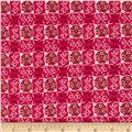 Valori Wells Ashton Road Flannel Geo Plaid Magenta