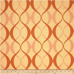 Richloom Indoor/Outdoor Duo Jacquard Orange