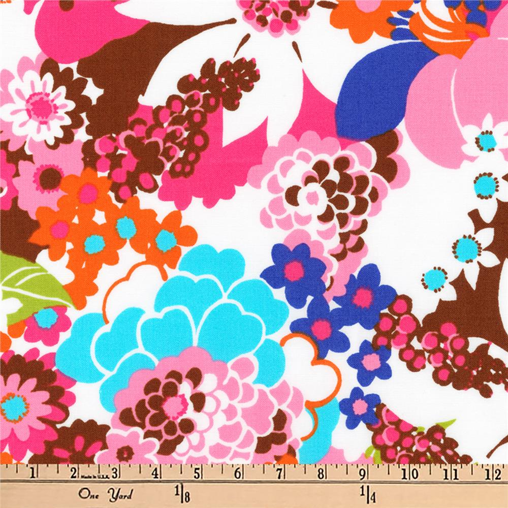 Kaufman Laurel Canyon Geo Floral Retro