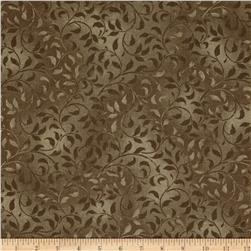 "Climbing Vine 108"" Wide Back Medium Brown"