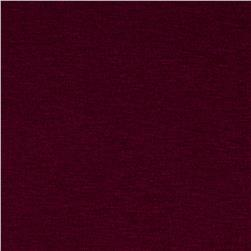 Rayon Spandex Jersey Knit Solid Merlot