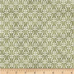 Winter Celebration Snowflake Geo Green