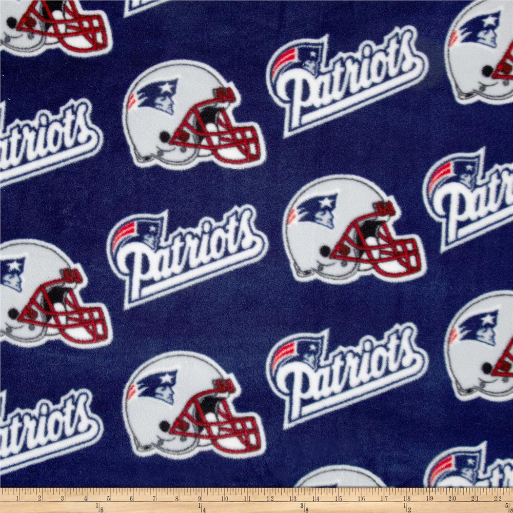 NFL Fleece New England Patriots Squares