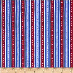 Prairie Yard Goods Stripe Royal