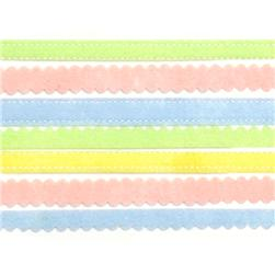 Martha Stewart Crafts Sticker Borders Felt Pastel 12