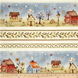 Sew Nice to be Home Border Stripe Multi