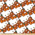 Hello Kitty Packed Flowers Orange