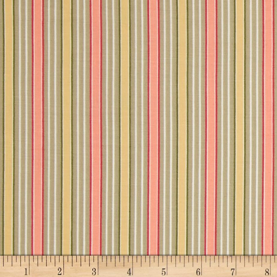 Subtle Sunset Vertical Stripes Multi