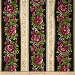 Harlow Rose Border Stripe Black