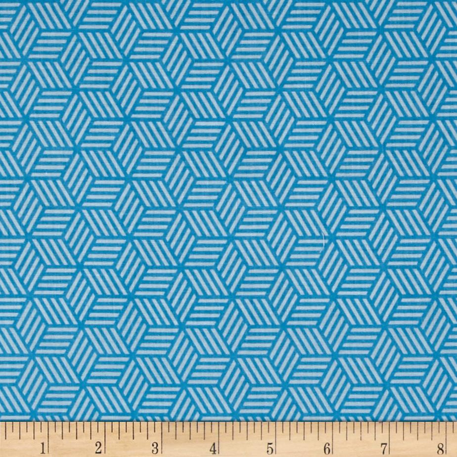 Riley Blake Play Ball 2 Geometric Blue