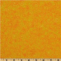 Moda Marble Swirls (9908-13) Bright Yellow Fabric