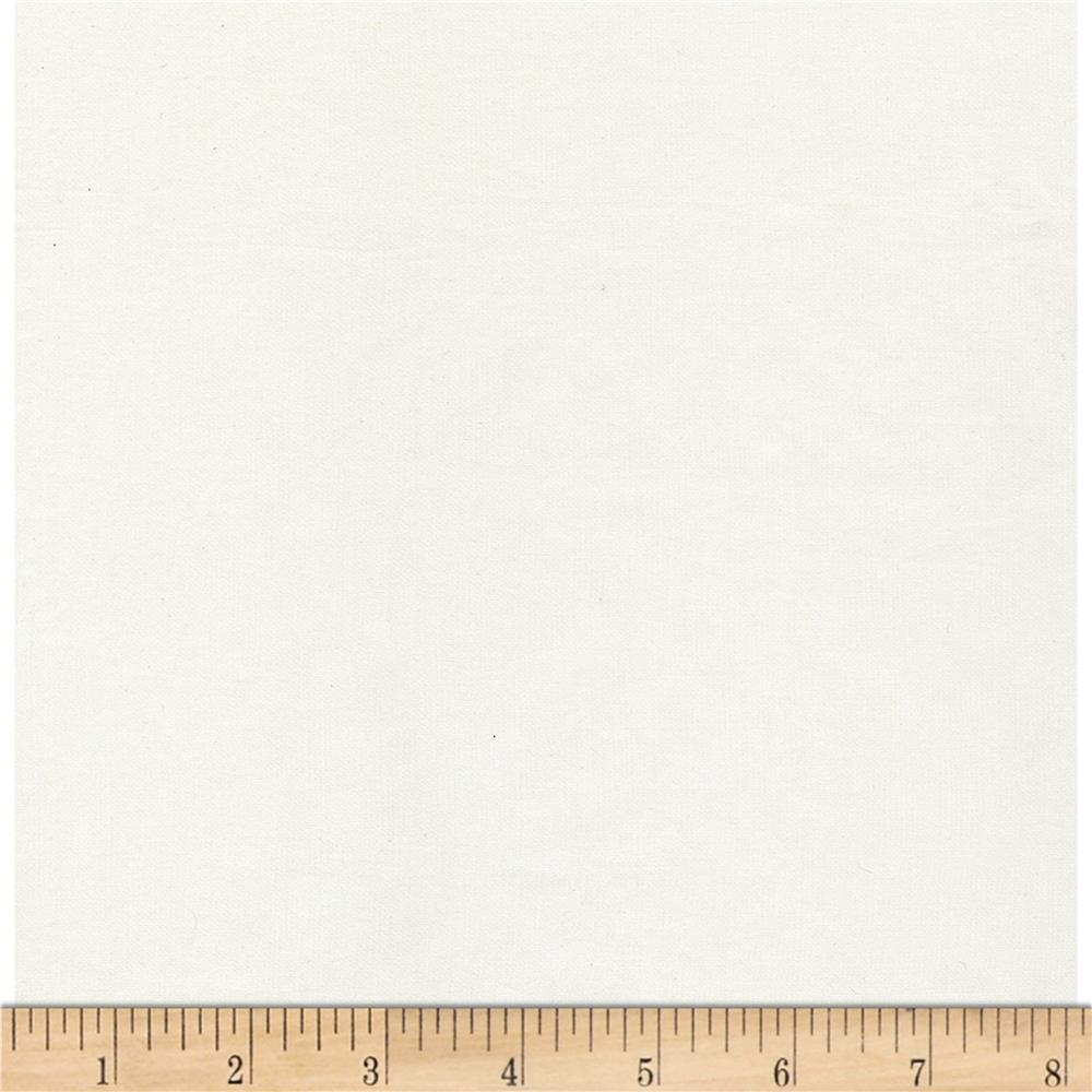 Kaufman Radiance Cotton/Silk Poplin Ivory