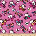 Hello Kitty Airplane Toss Pink