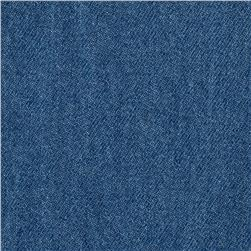 Indigo Denim 8oz  Unwashed Medium Light Blue