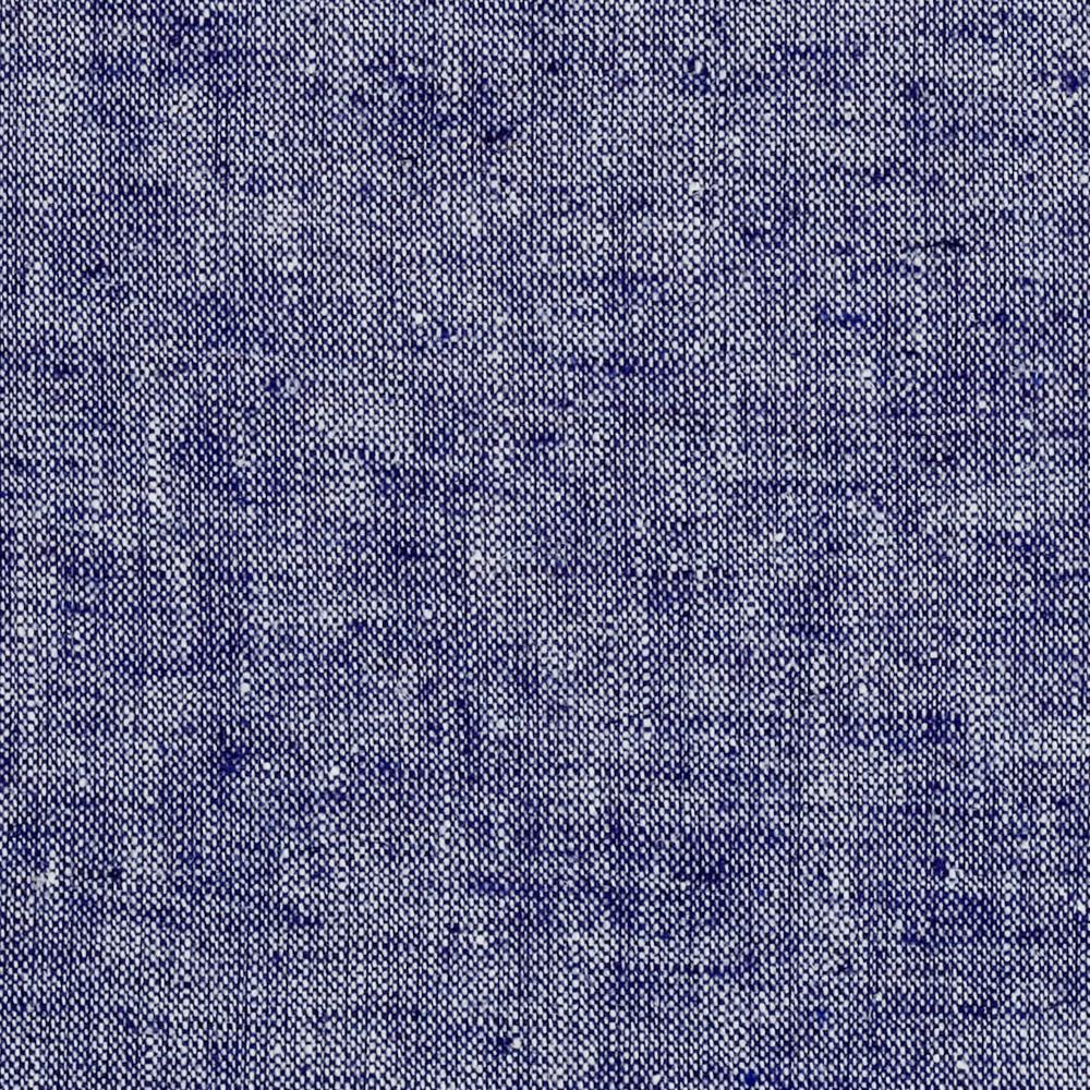 Kaufman Chambray Stretch Linen Indigo