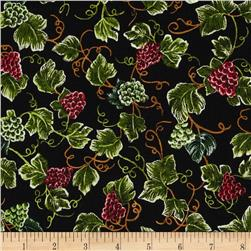 Robert Kaufman Vineyard Grapes Multi Fabric