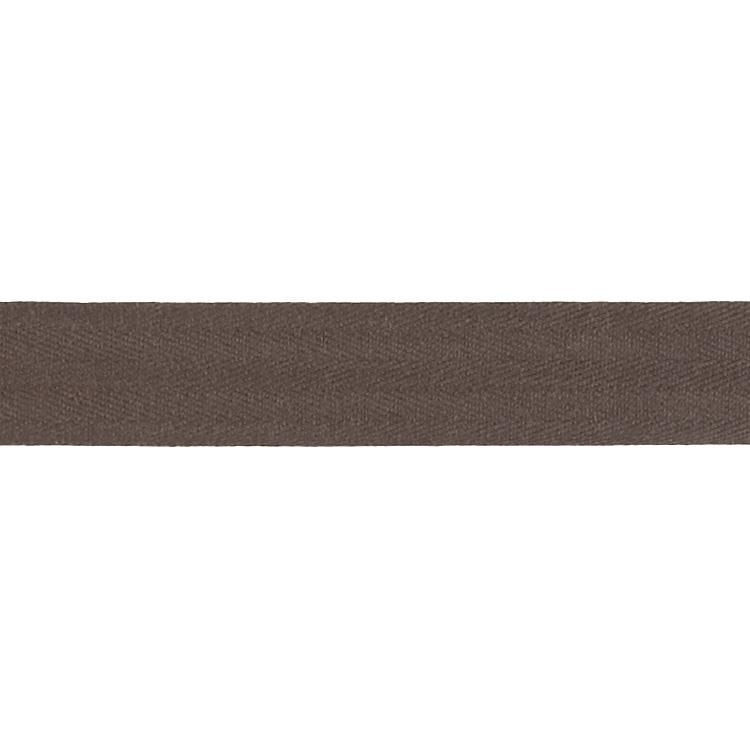 Cotton Twill Tape Roll 1'' Dark Brown