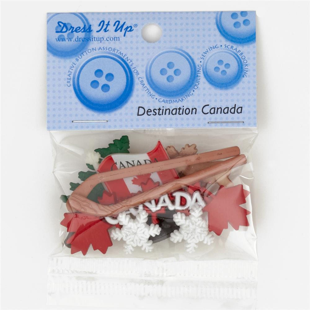 Dress It Up Embellisment Buttons  Canada