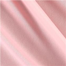 Nylon Activewear Knit Solid Pale Pink
