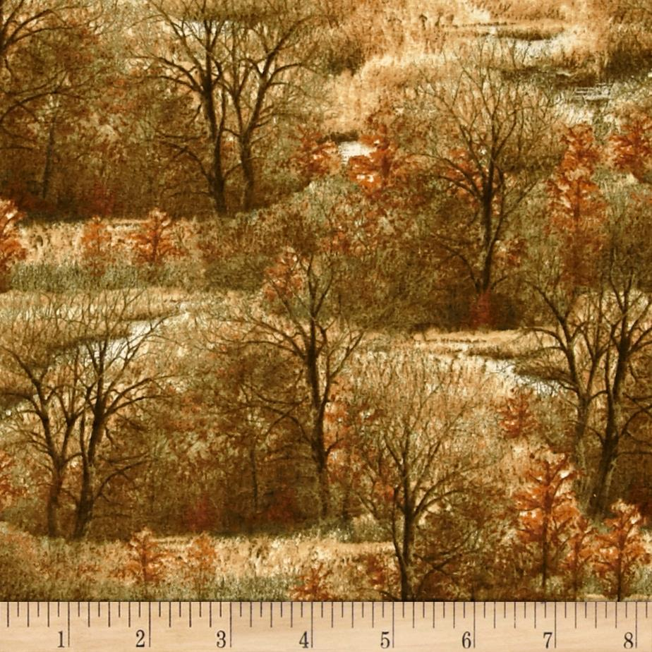 Wild Pheasants Trees Brown