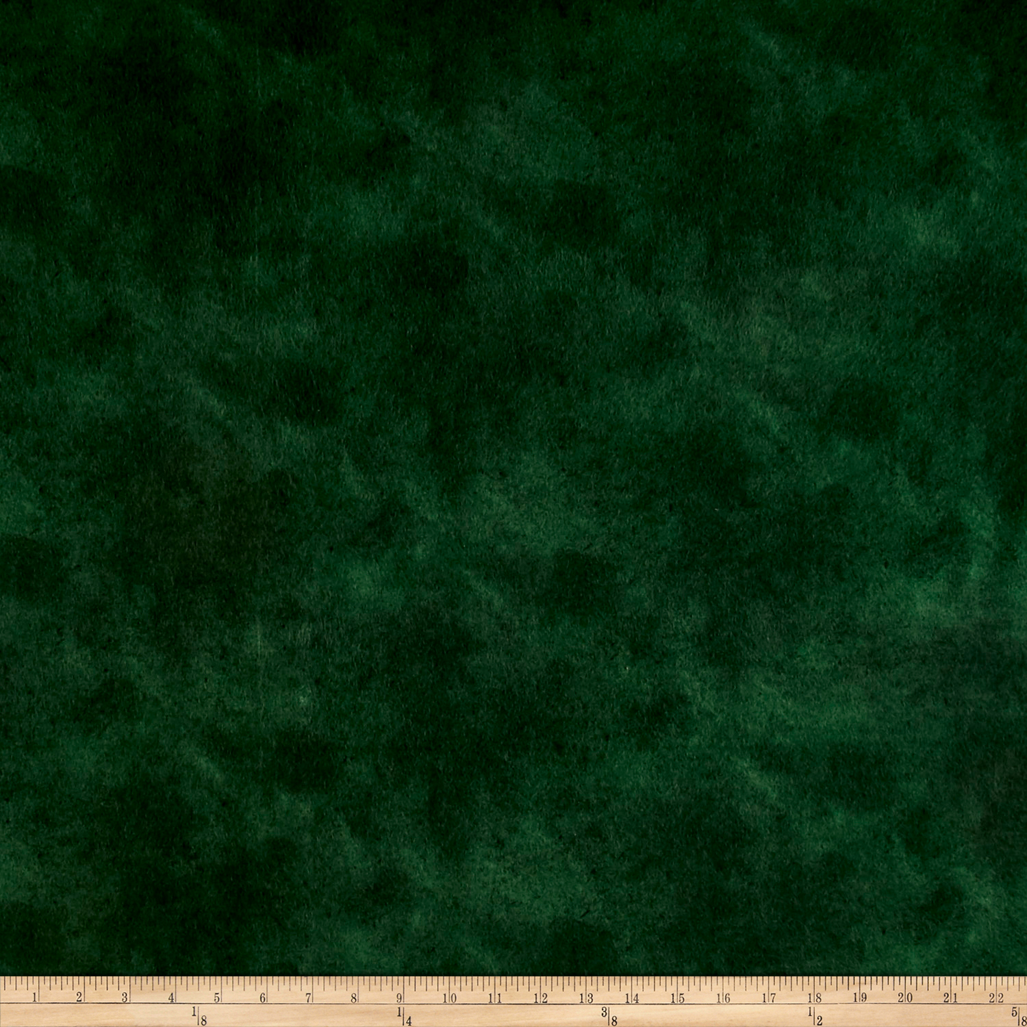 Suede Flannels Dark Green Fabric by P & B in USA