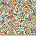 Kaufman London Calling Lawn Floral Spring