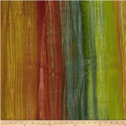 Kaufman Artisan Batiks Patina Handpaints Stripes Meadow