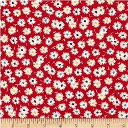 Moda Fresh Air Spiky Flower Red