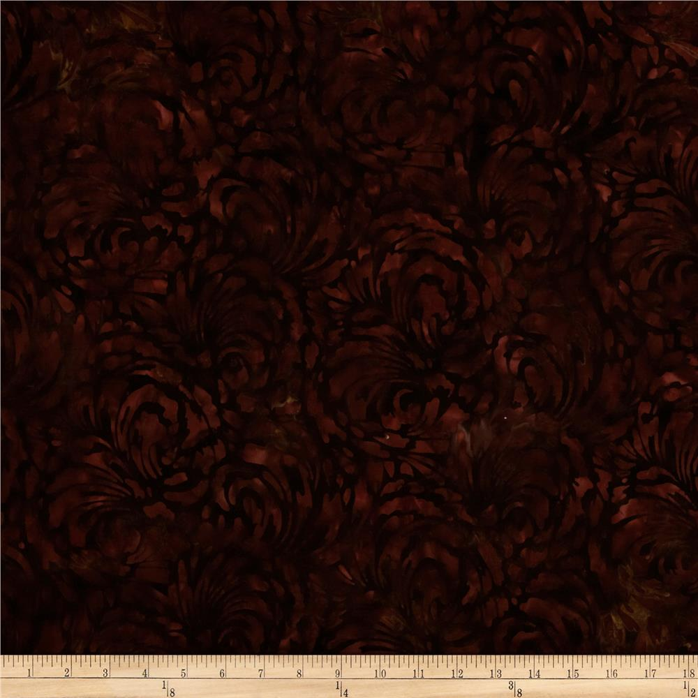 Artisan Batiks Elements Tonal Swirl Redwood