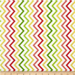 Michael Miller Mini Chic Chevron Citrus Fabric
