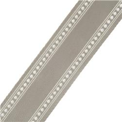"French General 2.75"" Bardot Trim Grey"