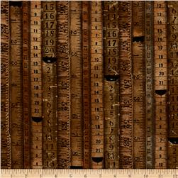 Tim Holtz Dapper Tape Measures Neutral