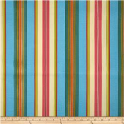 Swavelle/Mill Creek Indoor/Outdoor Gamali Stripe Bluebird