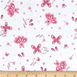Juvenile Cotton Knits Fairy White/Pink