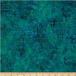 Bali Batiks Acres To Sew Shingles Teal
