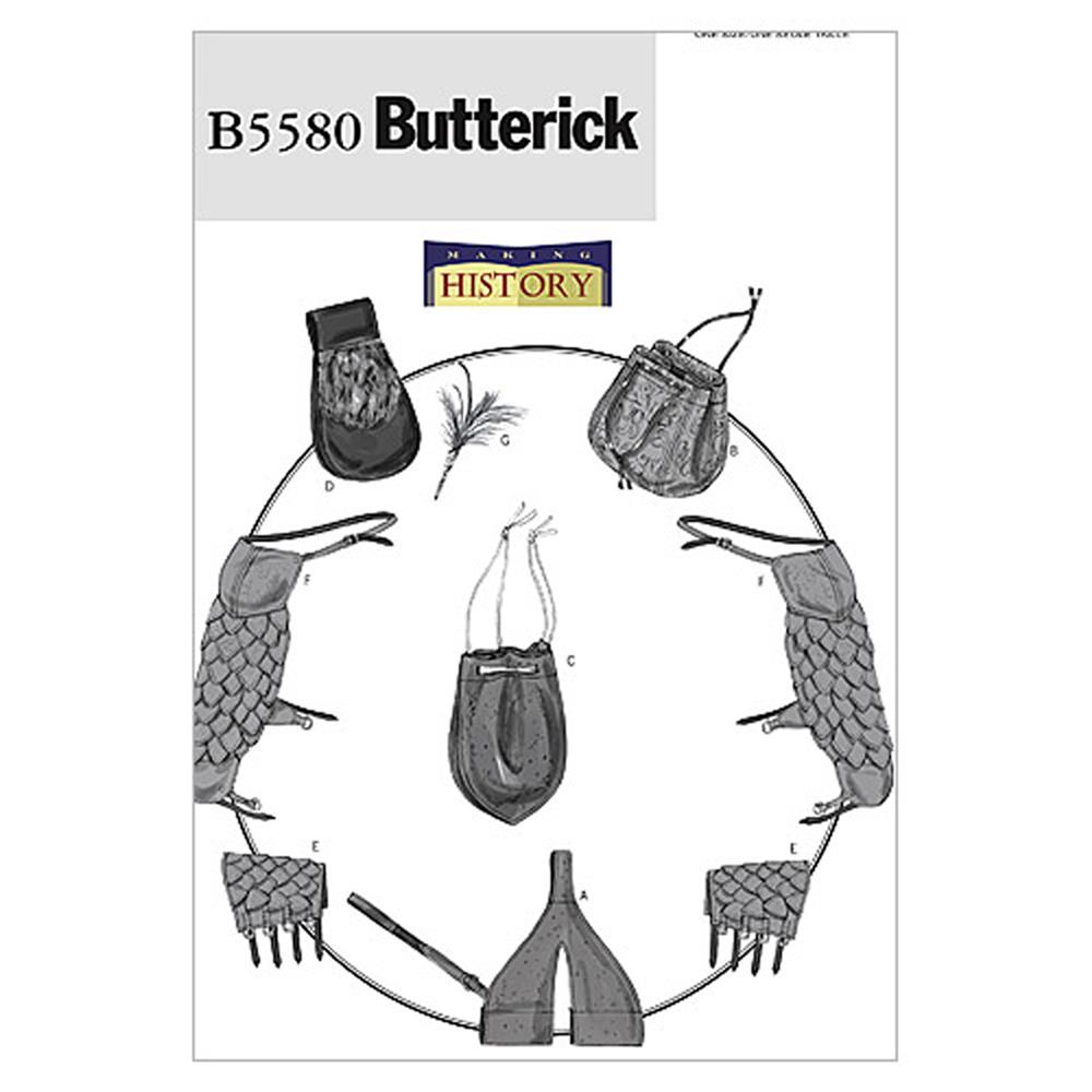 Butterick Sword Holder, Bags, Pouch Pattern B5580 Size OSZ