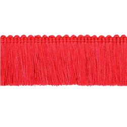 Expo 2'' Brush Fringe Red