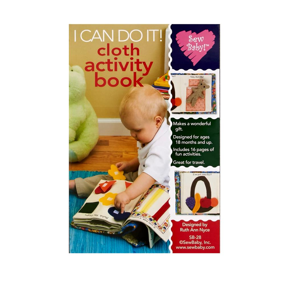 Sew Baby I Can Do It Activity Book