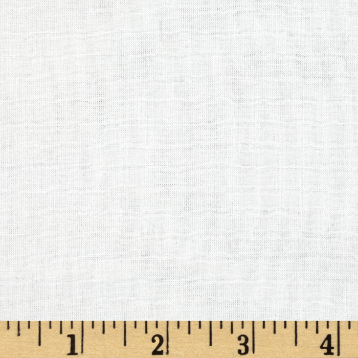 Robert Kaufman American Made Muslin Bleach White Fabric