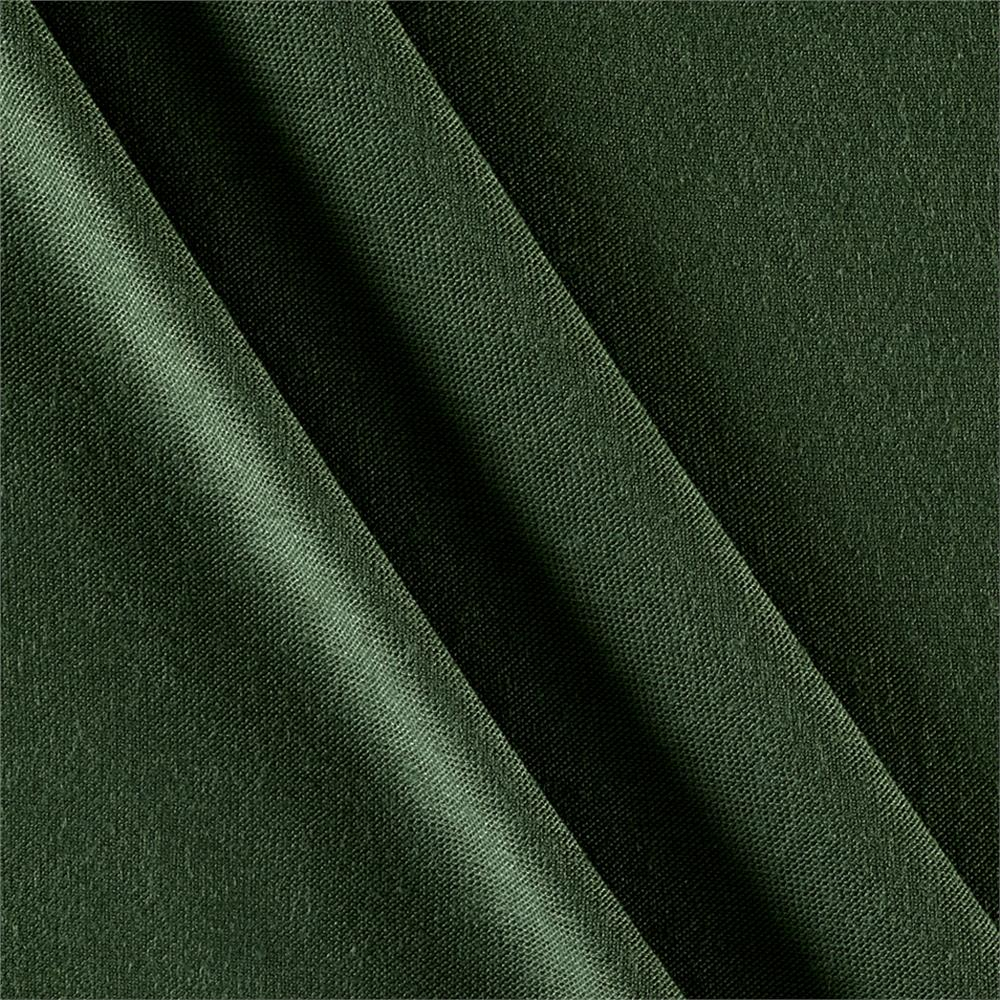 Rayon Spandex Jersey Knit Solid Green