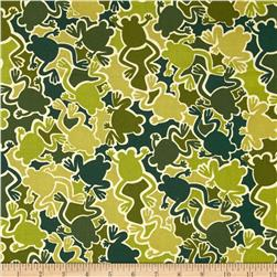 Kanvas Camo Mix Camo Frogs Olive