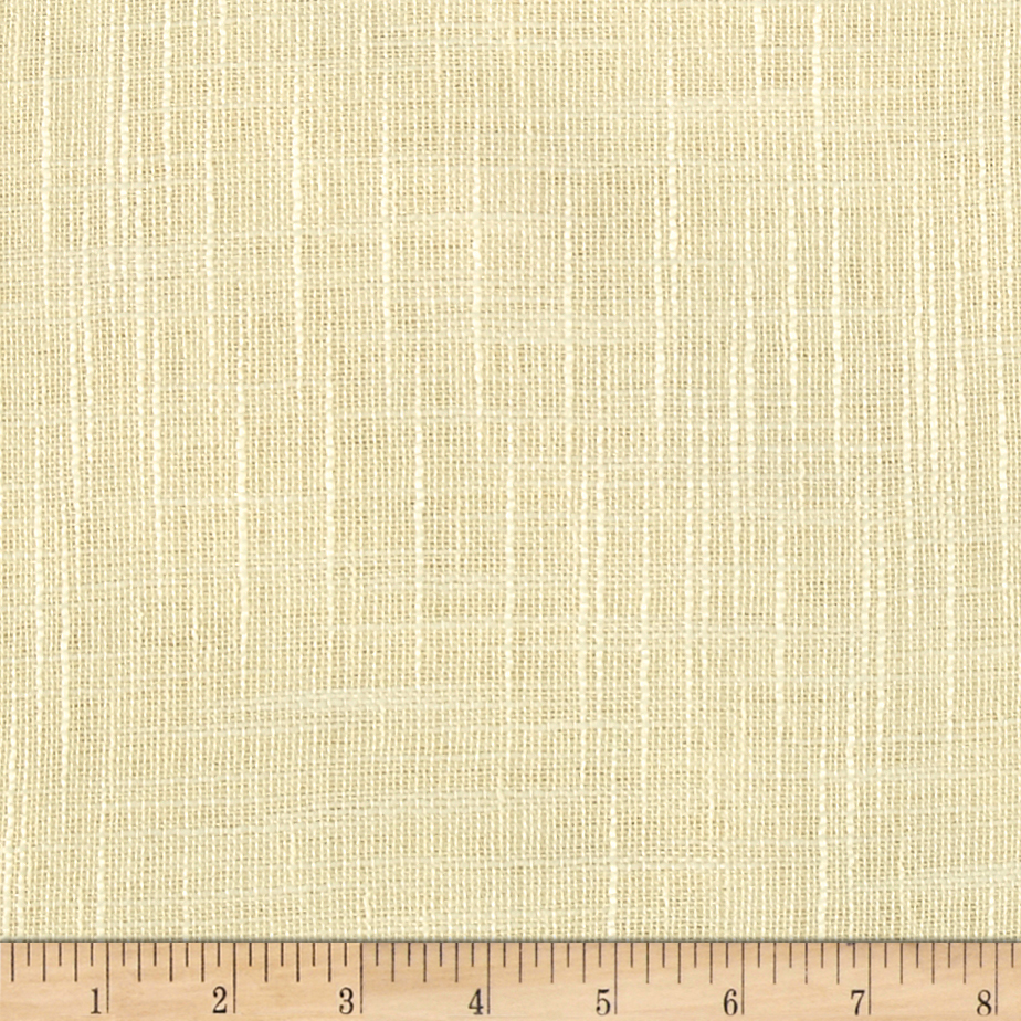 Image of 110'' Faux Linen Sheer Ivory Fabric