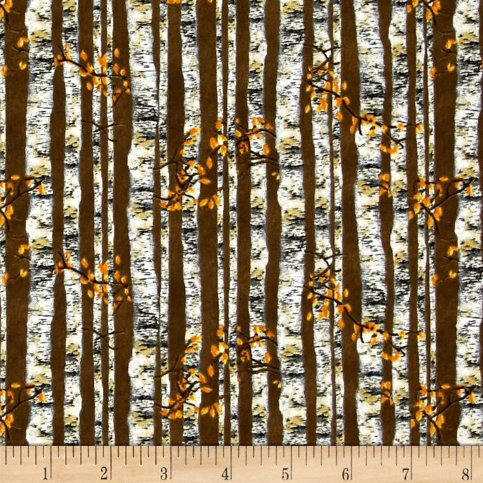 Nature's Glory Birch Tree Stripe Brown