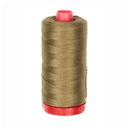 Aurifil 12wt Embellishment and Sashiko Dreams Thread Dark Sandstone