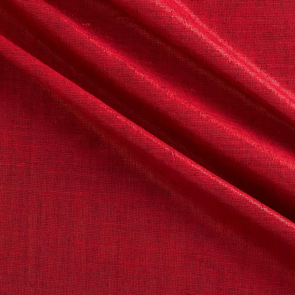 Bejeweled Metallic Shot Cotton Dark Red