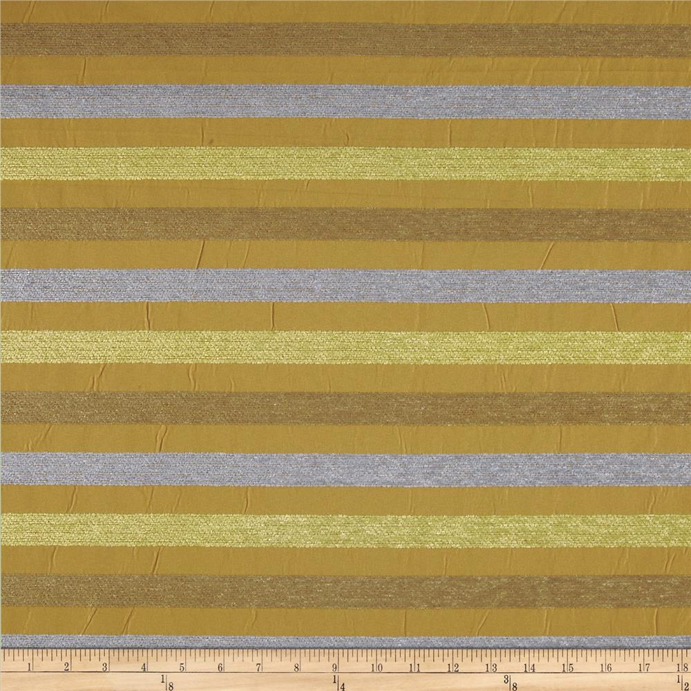 Robert Allen Promo Bellaria Chenille Stripe Sea Glass