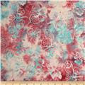 Bali Batik Handpaints Butterflies Cotton Candy